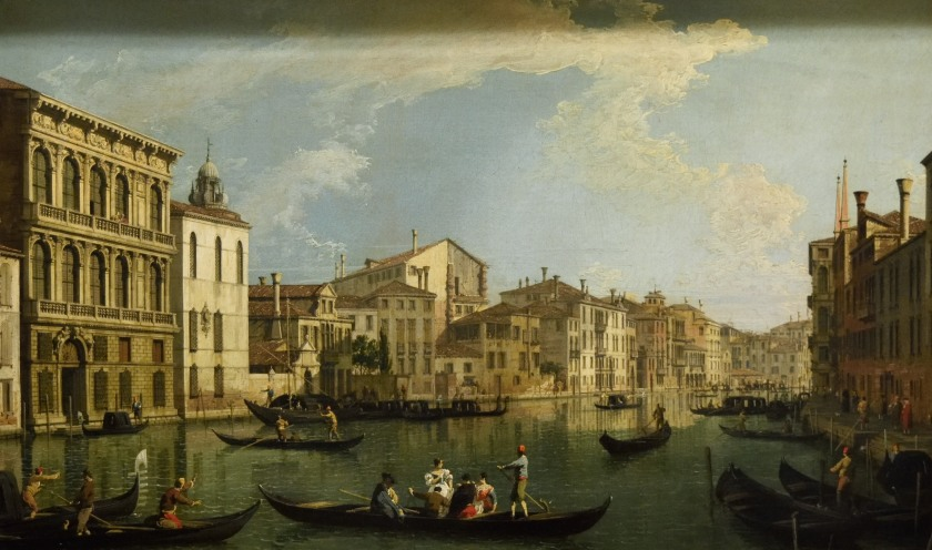 Canaletto, the Grand Canal