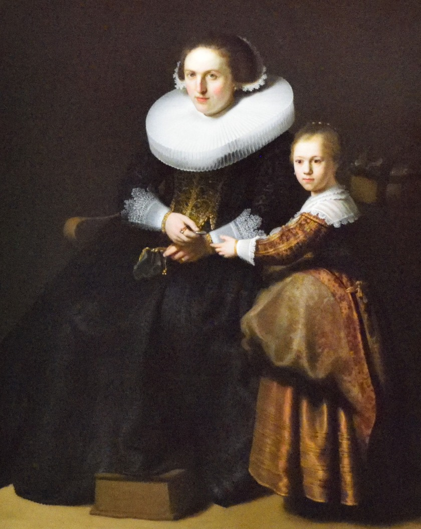 Rembrandt, Susanna van Collen and Anna